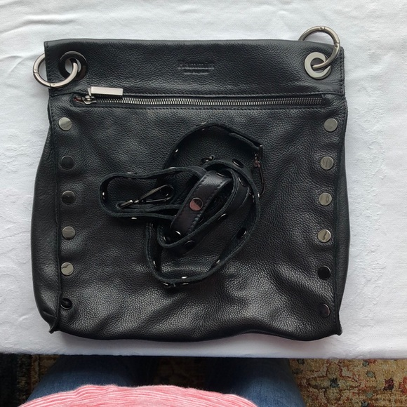 Hammitt Handbags - EUC Hammit Black Leather Crossbody Paul